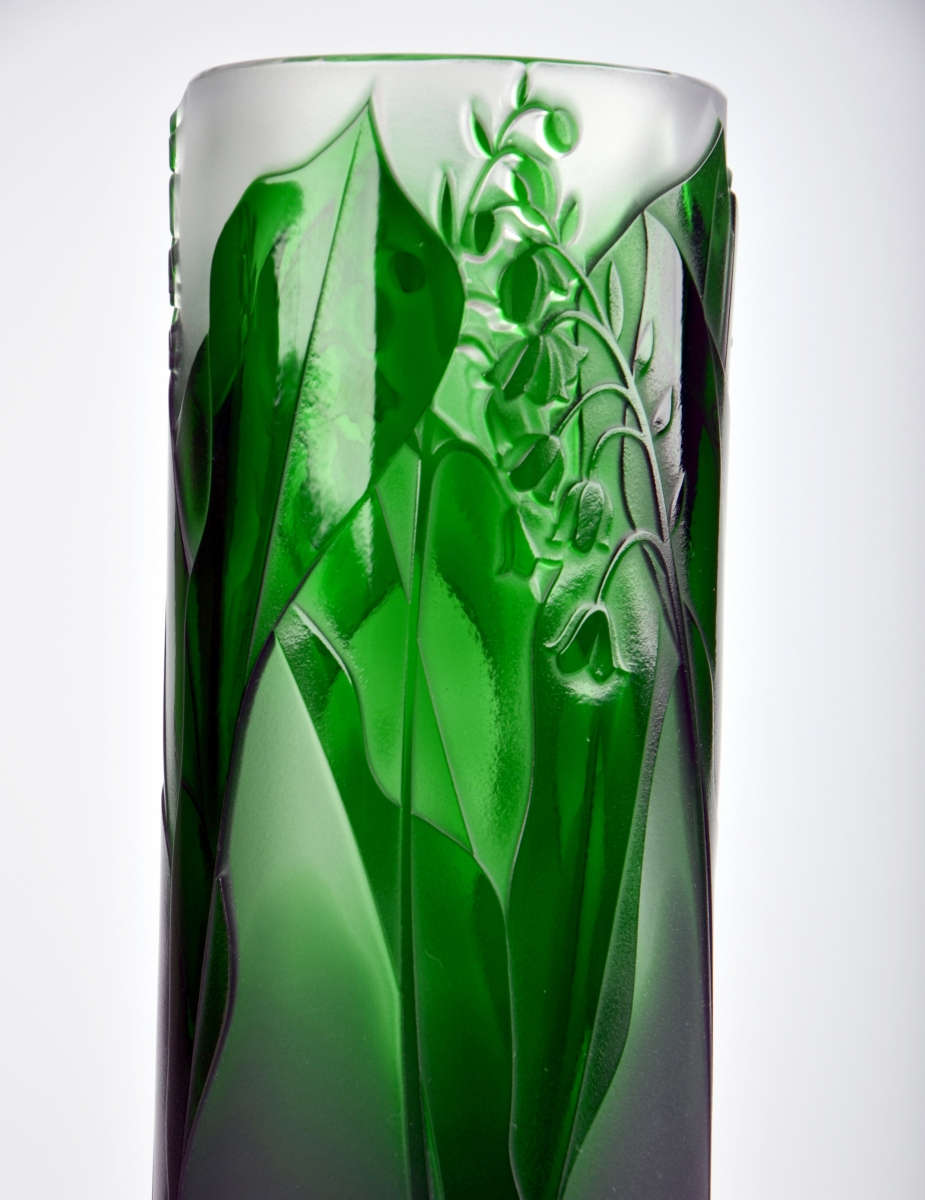 Lily Of The Valley Vase Crystal Treasury Com
