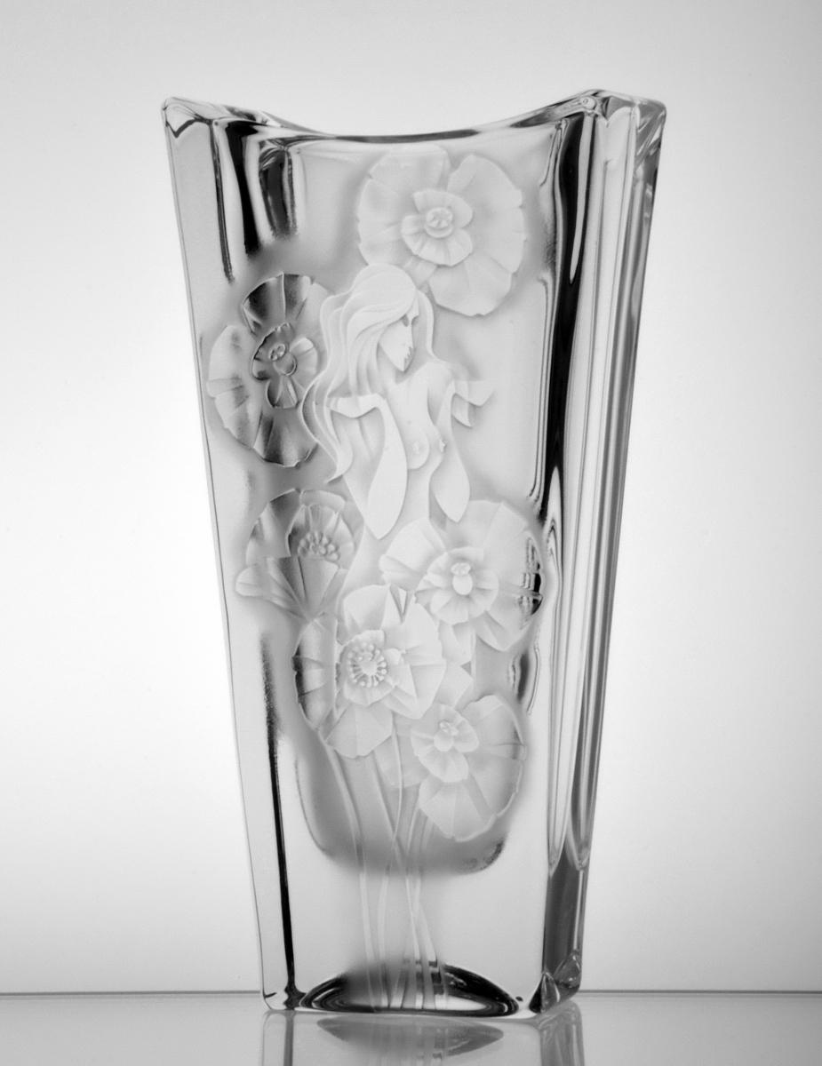Poppies Fairy Vase Crystal Treasury Com