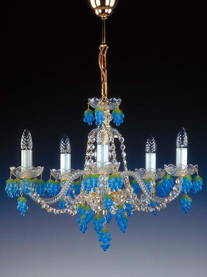 5x40w Chandelier Crystal Treasury Com