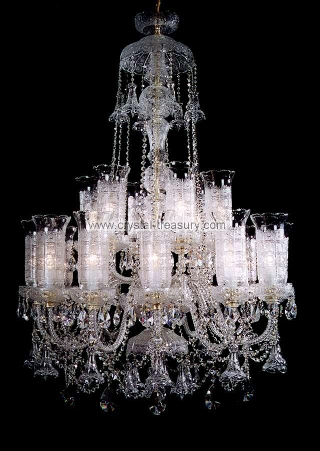 18 Bulb Chandelier Crystal Treasury Com