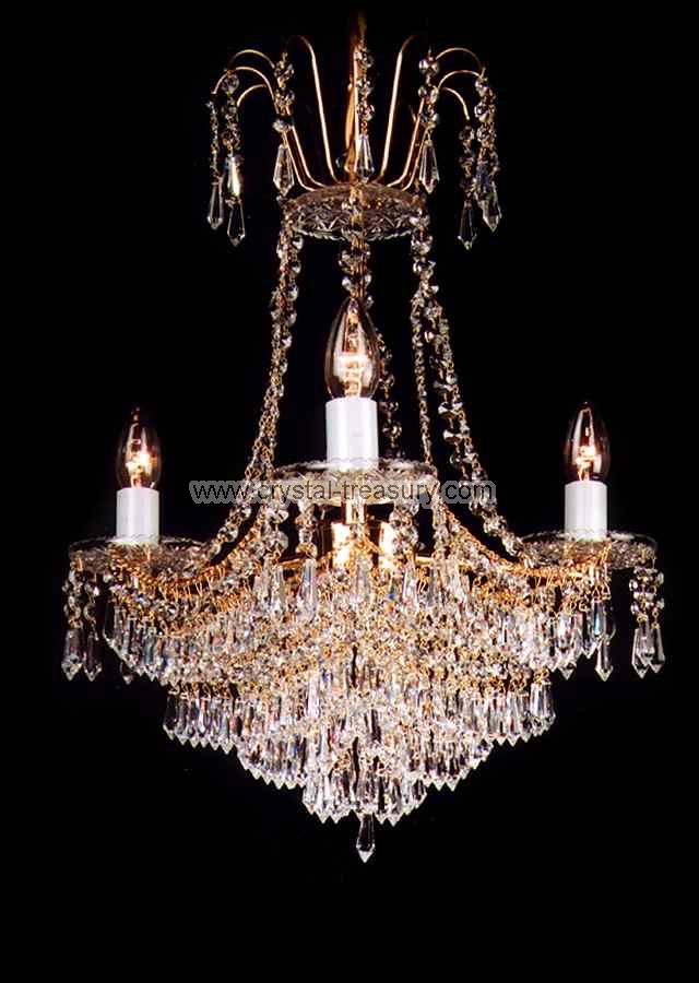 3 Bulb Chandelier Crystal Treasury Com