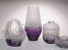 Vase Hoarfrost