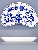 Blue Onion Porcelain Bowl Bones