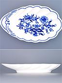 Blue Onion Porcelain Bowl Shell