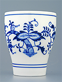 Blue Onion Porcelain Beaker