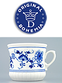 Zwieblemuster Porcelain Mug