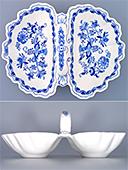Two Compartments Porcelain Bowl