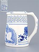 Blue Onion Beer Mug