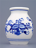Blue Onion Porcelain Miniature Vase
