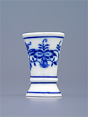 Miniature Blue Onion Porcelain Vase