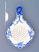Blue Onion Porcelain Tea Strainer