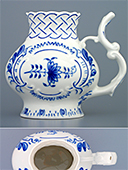 Blue Onion Embossed Spa Cup