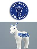 Zwiebelmuster Porcelain Donkey