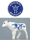 Zwieblemuster Porcelain Ox
