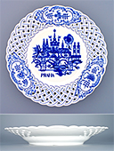 Prague Porcelain Wall Plate