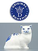 Zwieblemuster Porcelain Cat