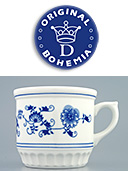 Large Porcelain Peasant Mug