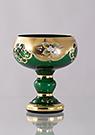 Bohemian Glass Comport Classic