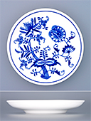 Blue Onion Porcelain Saucer 1921