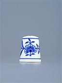 Blue Onion Porcelain Thimble N6