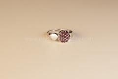 Granátový prsten Kruhy