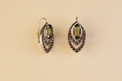 Garnet Earrings Vltavin