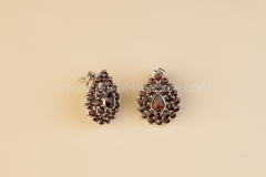 Garnet Earrings Droplet
