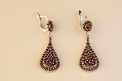 Garnet Earrings Drop