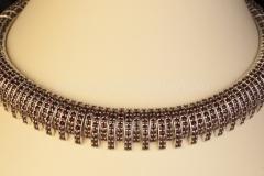 Granátový náhrdelník Drápek