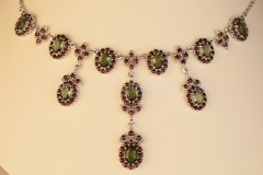 Garnet Necklace Royal