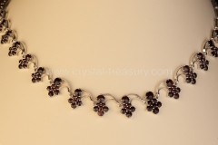 Garnet Necklace Bohemia