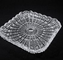 Bohemia Crystal Square Tray