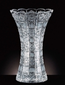 Bohemia Crystal Cut Vase