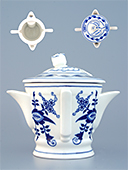 Blue Onion Porcelain Sauceboat