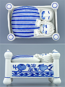 Porcelain Candy Box Bed