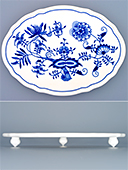 Czech Porcelain Footed Oval Board