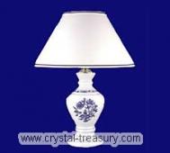 Blue Onion Porcelain Table Lamp