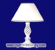 Blue Onion Lamp With Perforations