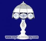 Blue Onion Table Lamp, Vitrage