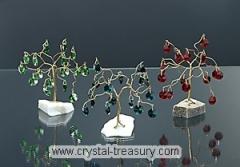 Stromek kristal