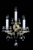 Maria Theresa Sconce with 3 bulbs