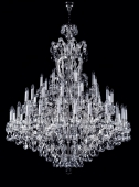 Nickel Maria Theresa Chandelier 48 bulbs