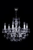 Nickel Maria Theresa Chandelier 6 bulbs