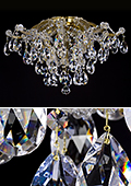 Maria Theresa Chandelier 8 bulbs