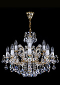 Theresian Crystal Chandelier 12 bulbs