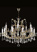 Maria Theresa Chandelier 15 bulbs