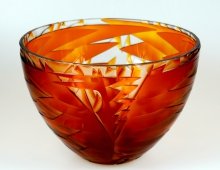 Crystal Phoenix Bowl