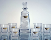 Gold Fish Whisky Set