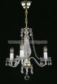 3 bulb chandelier