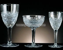 Celebration Crystal Champagne Saucer